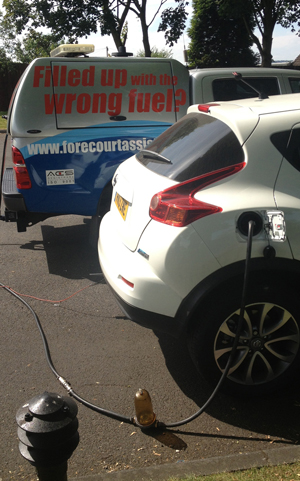 Forecourt Assist North East on-site